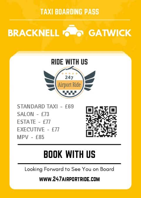 bracknell to gatwick price
