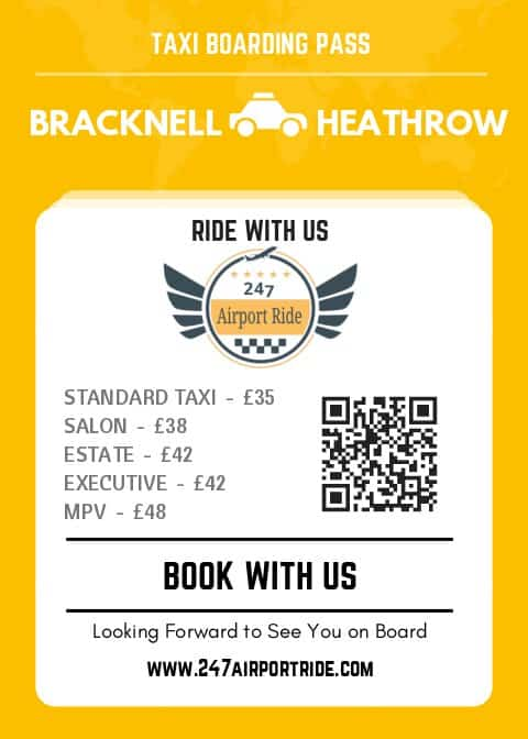 bracknell to heathrow price