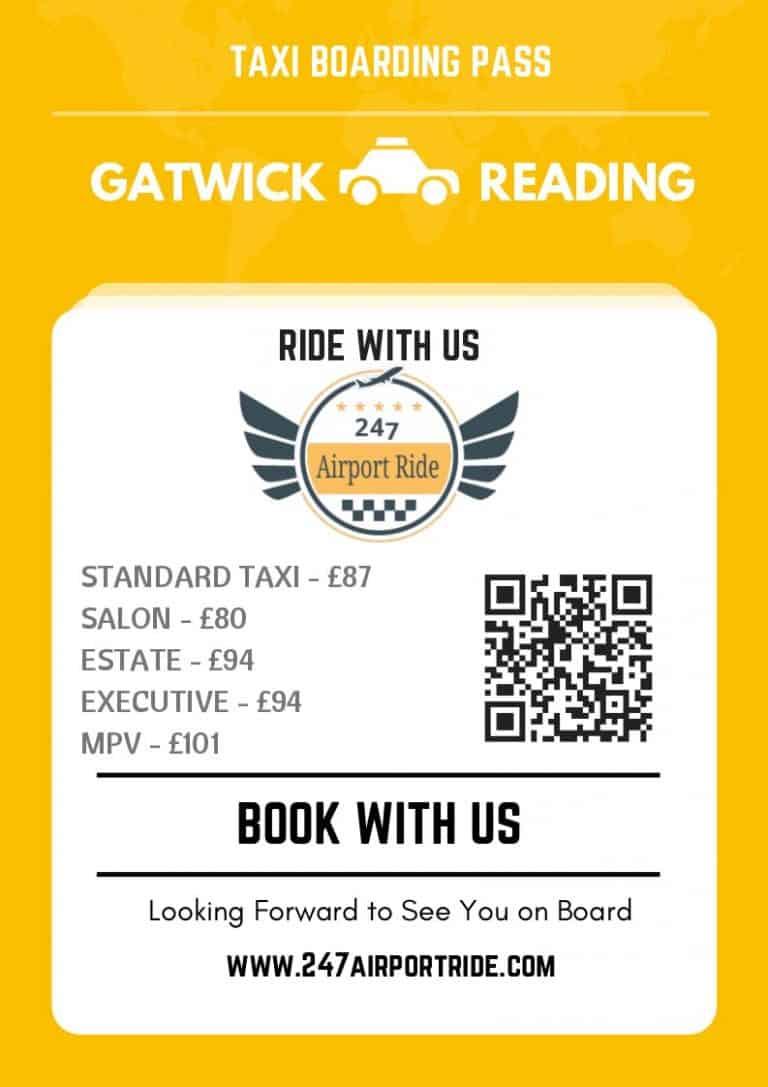 gatwick to reading price
