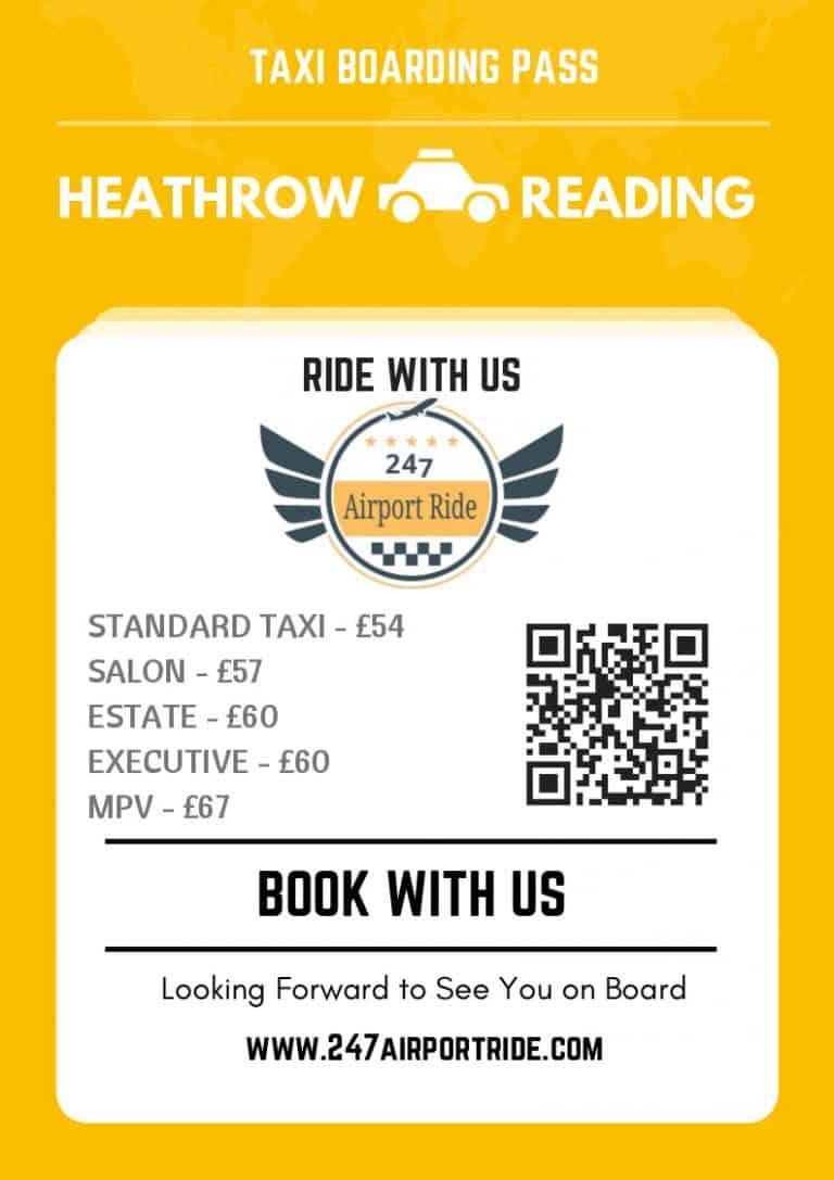 heathrow to reading price