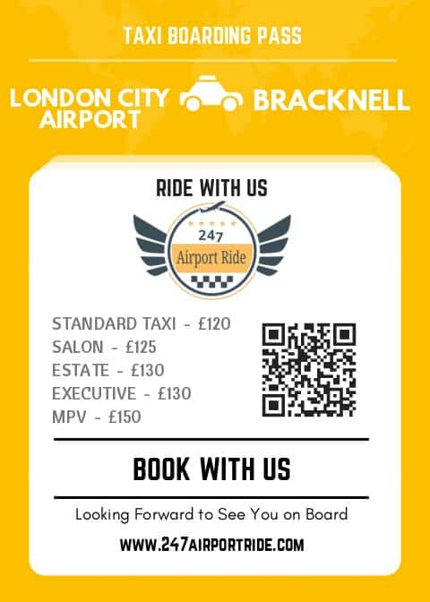 london city airport to bracknell price