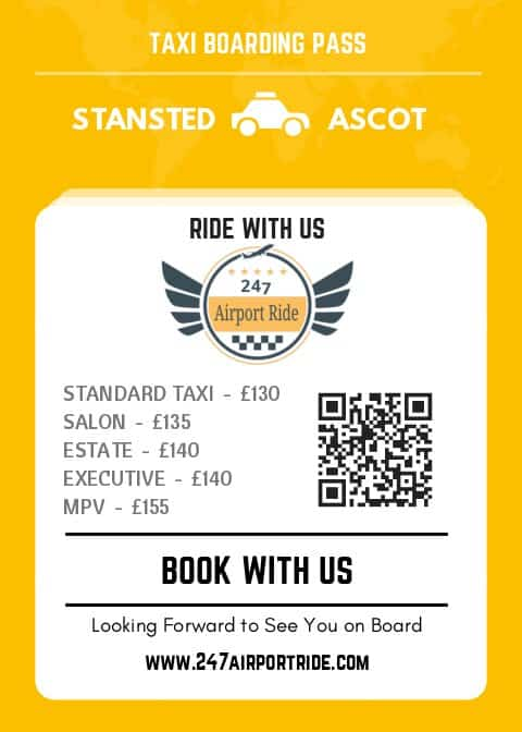 stansted to ascot price