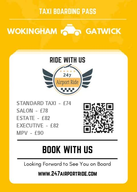 wokingham to gatwick price